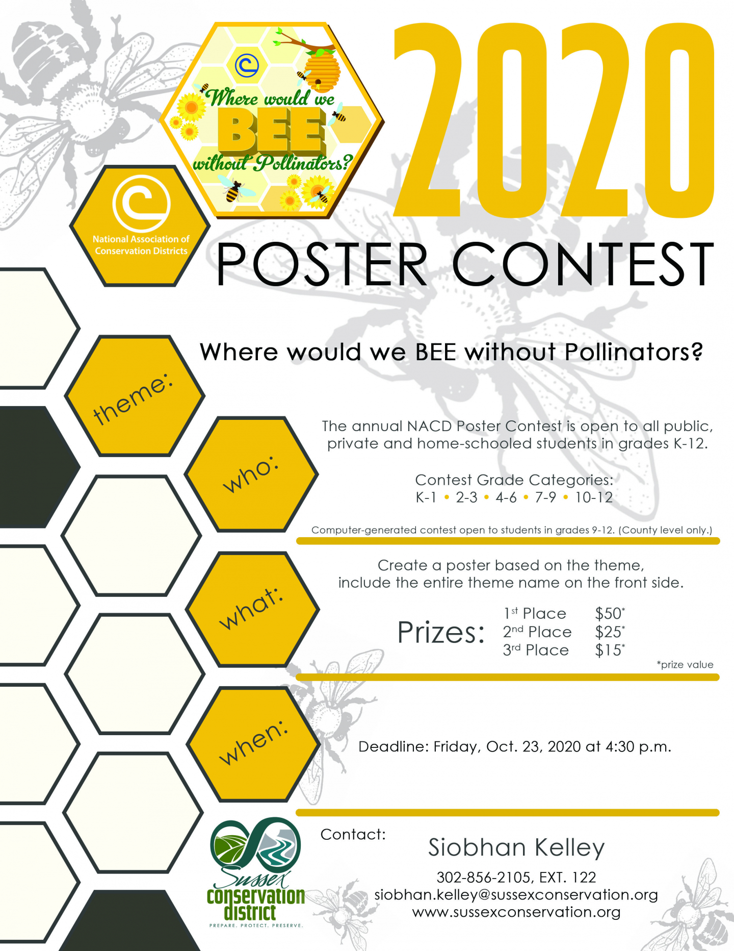 Poster Contest Flyer PG 1 SCD
